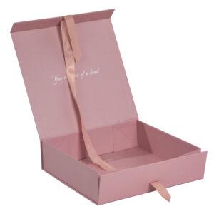 折りたたみ式の化粧箱の制作事例